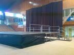 Pódium se zábradlím NIVTEC pro Apocalypticu _ M-AUDIO, s.r.o.