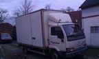 Autodoprava _ NISSAN CABSTAr 4,5t _ M-AUDIO Plzeň