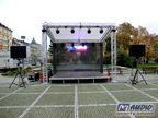 zastřešené pódium 5x4m _ M-AUDIO