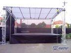 zastřešené pódium 7x5m _ M-AUDIO