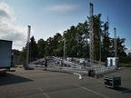 Zastřešené pódium _ Ground support backstage _ M-AUDIO Plzeň