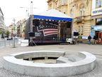 Zastřešené pódium 9x7m _ M-AUDIO Plzeň